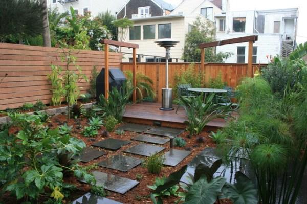 ideas grassless landscaping