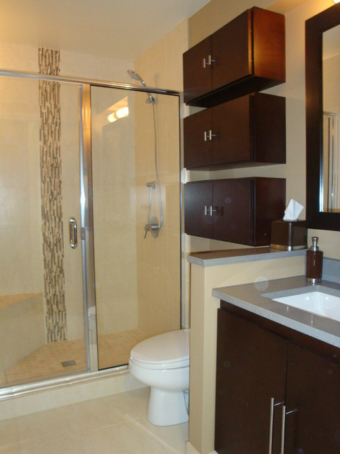Lincoln Park Townhouse Master Bath  Contemporary  Bathroom  chicago  by Design Build 4U Chicago