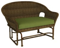 Rockport Traditional Patio Double Glider Chair, Canvas ...
