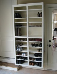 Shoe Rack - Traditional - Garage And Shed - atlanta - by ...