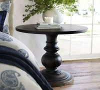 DAWSON PEDESTAL SIDE TABLE - Traditional - Side Tables And ...