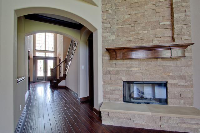 Newmark Homes Wellington Plan Traditional Living Room