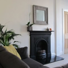 Pictures Of Decorated Living Rooms With Fireplaces Storage Room Tenement Project Edinburgh - Traditional ...