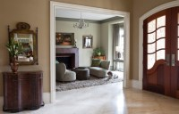 The Sitting Room off the Foyer - Transitional - Living ...