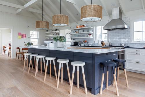 coastal style kitchen 10 Decorating Ideas For A Coastal Kitchen