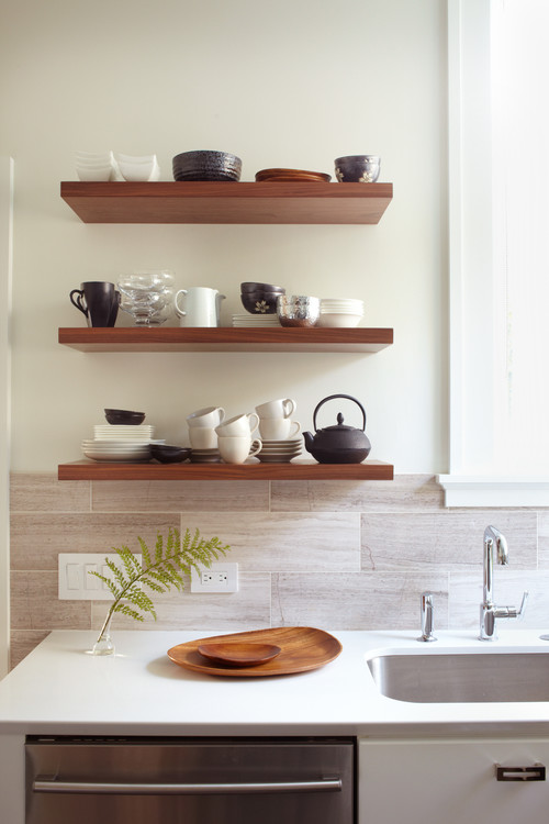 open vs closes shelving houzz
