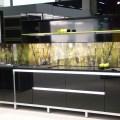 Aluminum cabinet doors in modern kitchen design modern kitchen