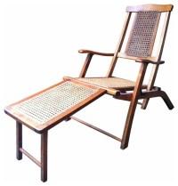 Steamer Deck Chair - Mediterranean - Outdoor Lounge Chairs ...