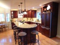 Buffalo Grove Kitchen with 2 Tier Island - Traditional ...