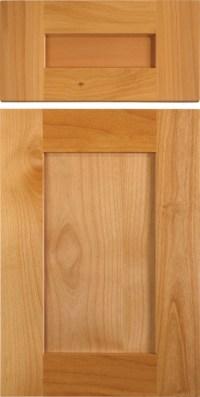 Shaker Style Cabinet Doors in Alder - Traditional ...