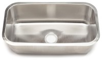 Clark Stainless Steel Extra Large Single-bowl Undermount ...