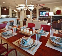 Contemporary Dining Room by Brentwood Interior Designer AB ...