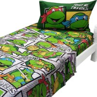 Teenage Mutant Ninja Turtles Twin Sheets Trust Ninja ...