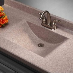 Swanstone Single Bowl Kitchen Sink Retro Appliances For Sale Imperial Satin Stone Vanity Top - Modern Tops And ...