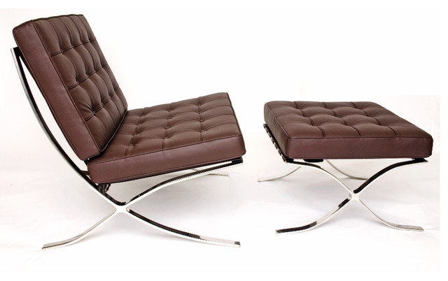 Barcelona Chair And Stool