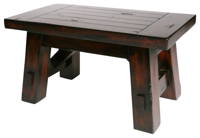 Hard Wood Bench, Small  Craftsman  Indoor Benches  By