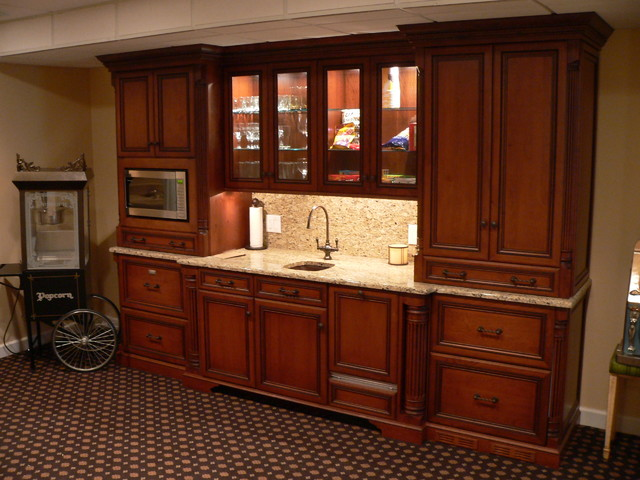 Custom Bar Designs  Traditional  Basement  other metro  by J Maness Designs