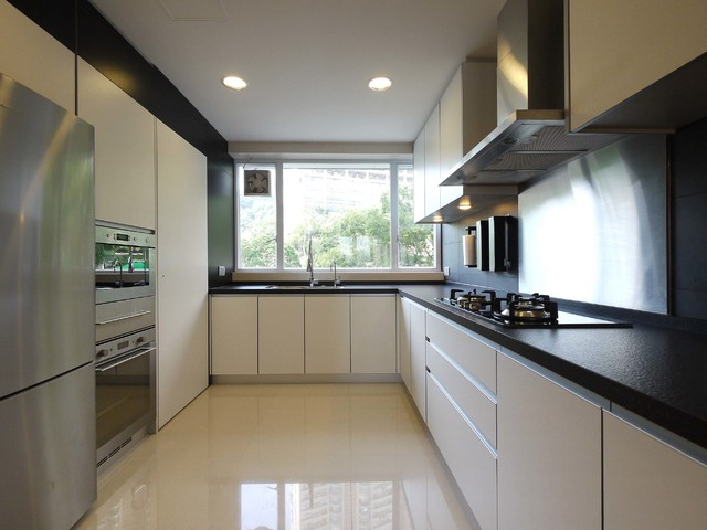 Mordern Indian Apartment  Contemporary  Kitchen  hong