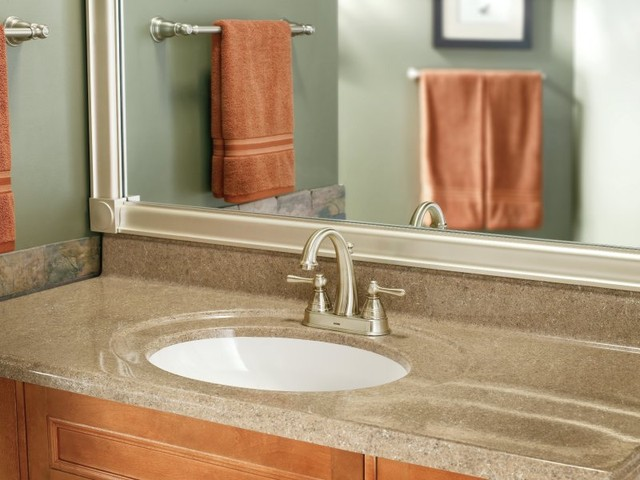 Moen Kingsley Collection  Bathroom  by Buildcom