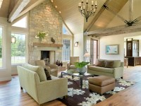 Rustic Contemporary - Contemporary - Living Room - st ...
