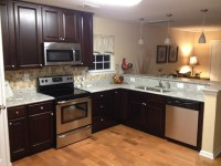 Small Open Concept Kitchen traditional-kitchen