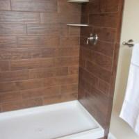 Wood tile Bathroom - Contemporary - Bathroom ...