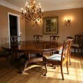 72 round brown mahogany formal dining room table ap 72 wal in