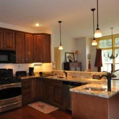 Kitchen Design Naperville Grey Granite Sink Peninsula Remodel - Traditional Boston By ...