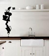 Kitchen Wall Stickers Decoration Idea - Modern - Wall ...