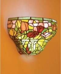 Wall Sconces Stained Glass | Home Decoration Club