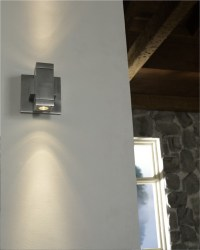 Taos SquareLED Wall Sconce in Hallway - Contemporary ...