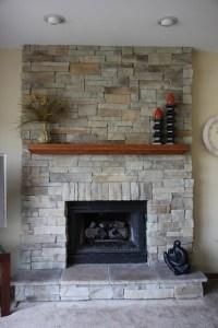 Ledge Stone Fireplace Album 3 - Traditional - Family Room ...