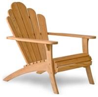 Bainbridge Collection Teak Adirondack Chair contemporary ...