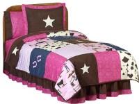 Western Cowgirl Children's Bedding Set Twin (4-Piece ...
