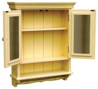New Cabinet Yellow French Country Painted - Farmhouse ...