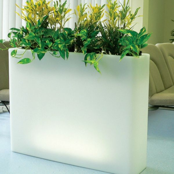 Photos Illuminated Indoor Outdoor Planters Outdoor Pots And Planters Chicago