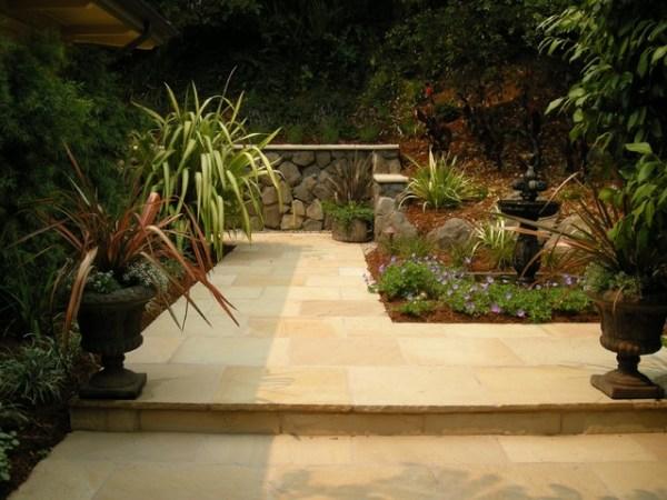 natural stone hardscapes - mediterranean