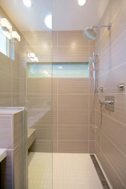 Contemporary Shower  Contemporary  Bathroom  san diego