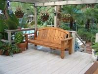 Western red cedar patio set - Outdoor Benches - orlando ...