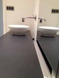 Floating Countertop - Contemporary - Bathroom - dallas ...