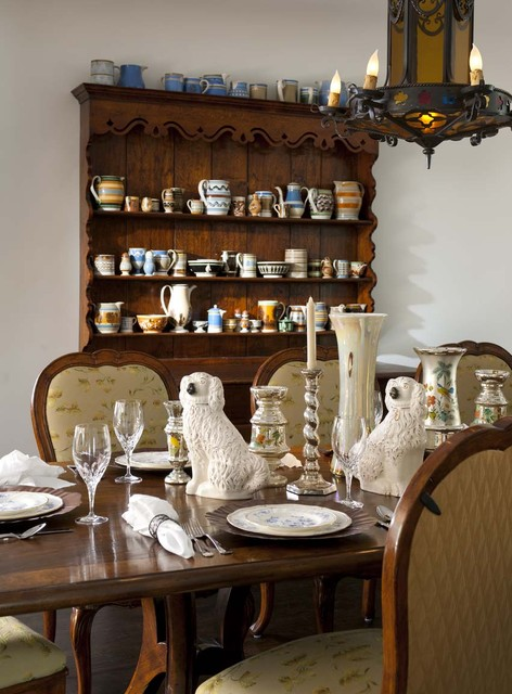 Spanish Colonial Remodel  Rustic  Dining Room  other
