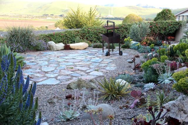 photos yosemite slate patio mediterranean landscape san luis obispo