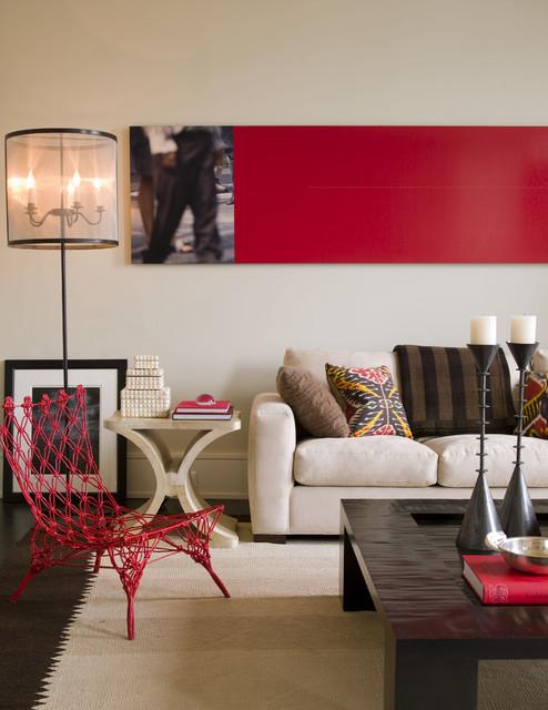 Noho Loft contemporary-living-room