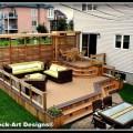 Patio deck art designs outdoor living modern deck