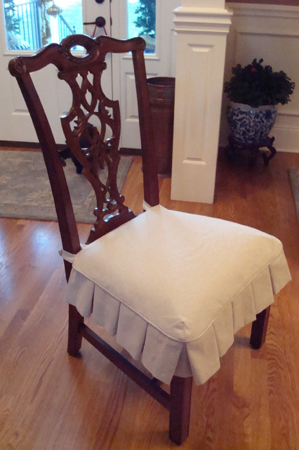 dining room chair pad covers high back recliner slipcovers - traditional nashville by fabric interiors custom