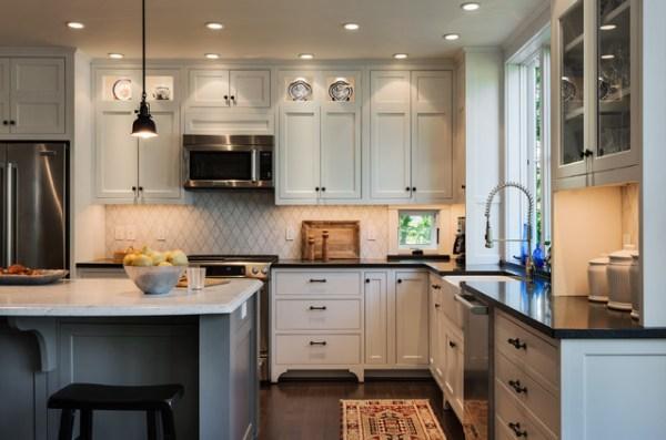beach cottage style kitchens Hills Beach Cottage - Beach Style - Kitchen - portland