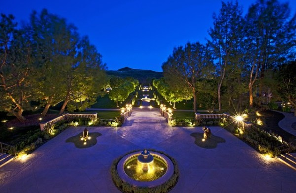 beverly hills estate - traditional