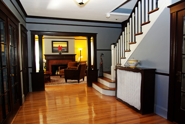 Arts And Crafts Home Traditional Entry Boston By