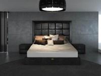 Unique Leather Contemporary Platform Bedroom Sets - Modern ...
