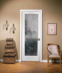 Kona Decorative Glass Interior Door
